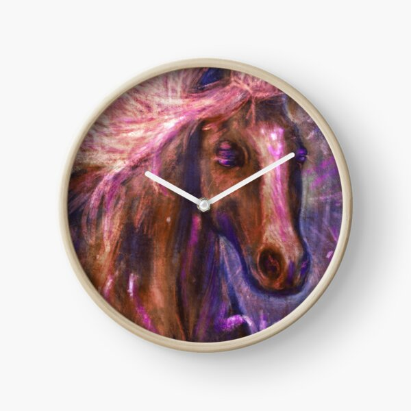 Enchanted Horse Clock