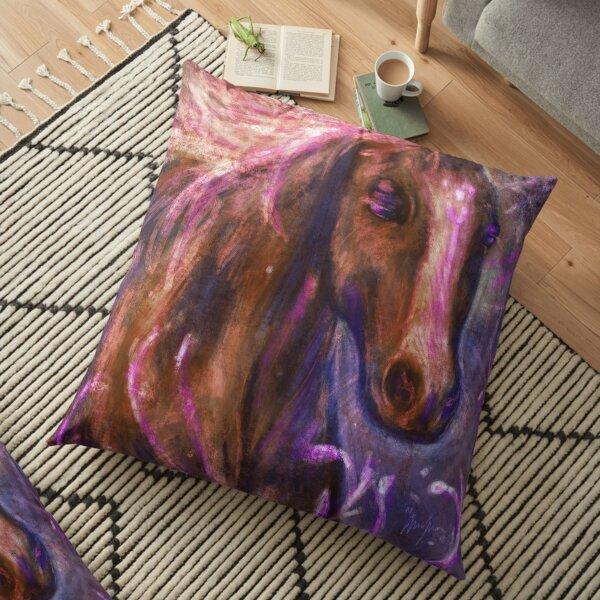 Enchanted Horse Floor Pillow