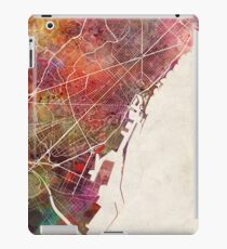 Barcelona map iPad Case/Skin
