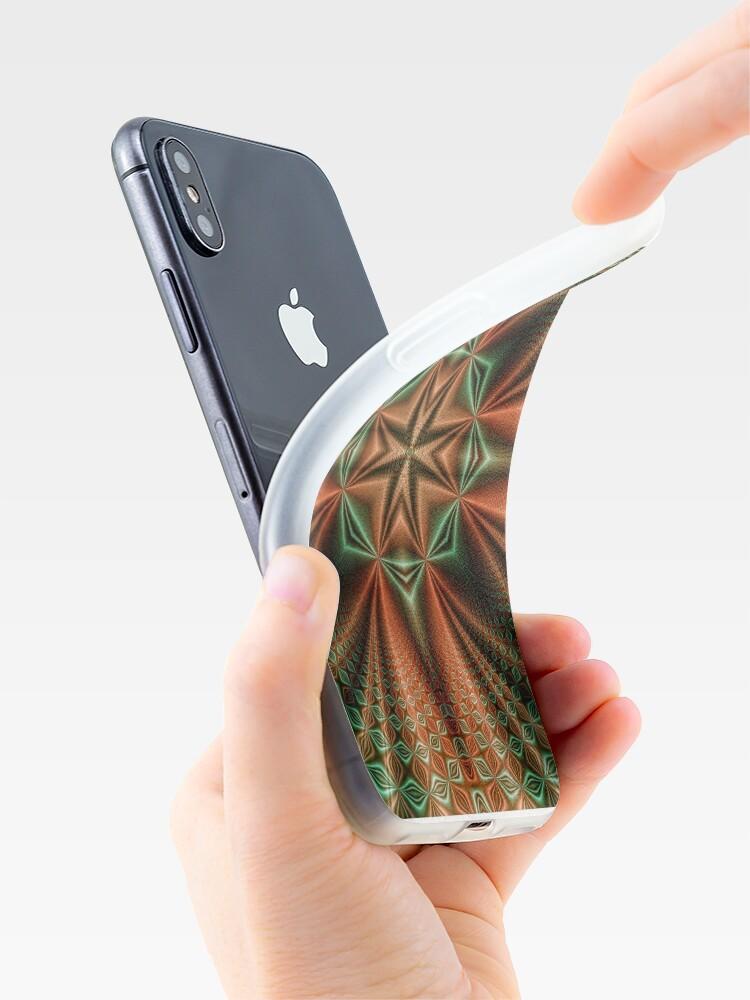 Alternative Ansicht von Wormhole Pattern iPhone-Hülle & Cover