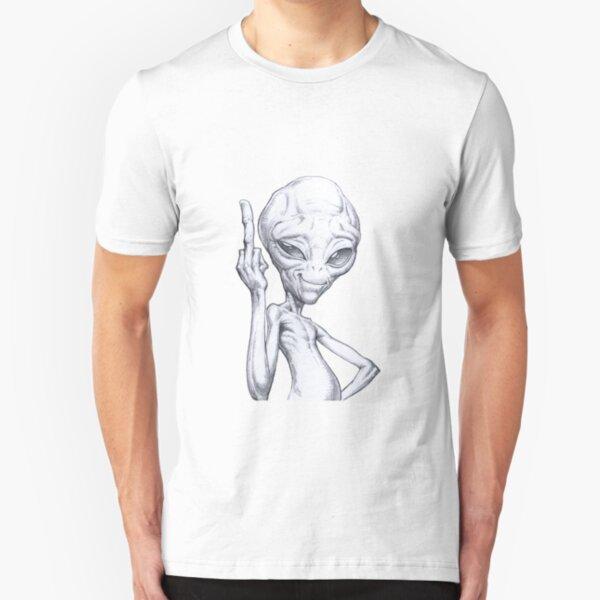 Paul - the alien Slim Fit T-Shirt