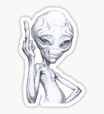 Paul - the alien Sticker