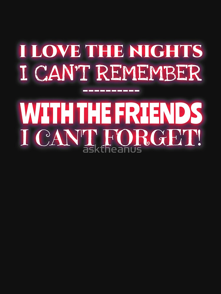 Night Friends - Can you rememberer forget them? by asktheanus