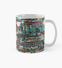ABSTRACT MAP OF SAN FRANCISCO, CA Classic Mug