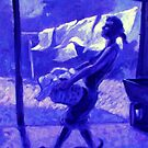 Violet's Wash Day by Cary McAulay