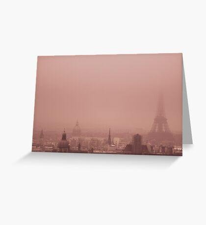 A foggy day Greeting Card