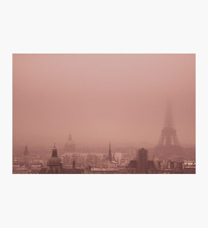 A foggy day Photographic Print