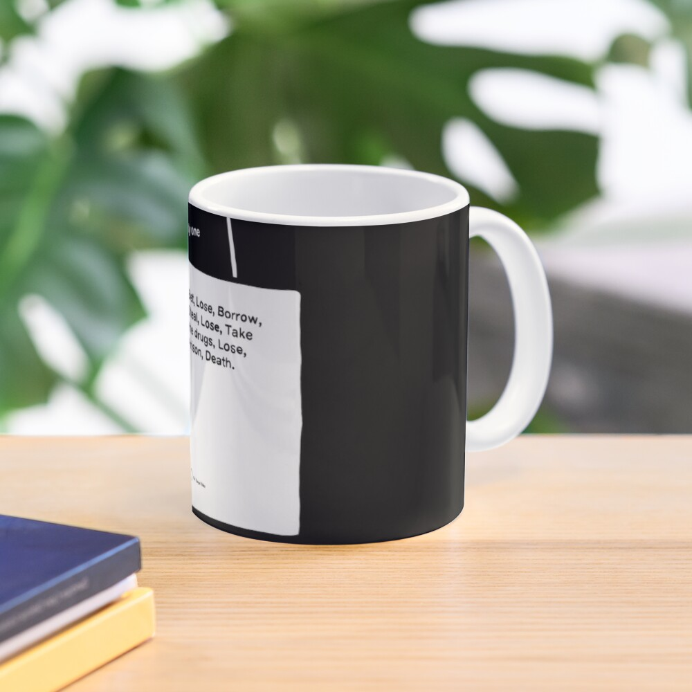 Black Books System Mug