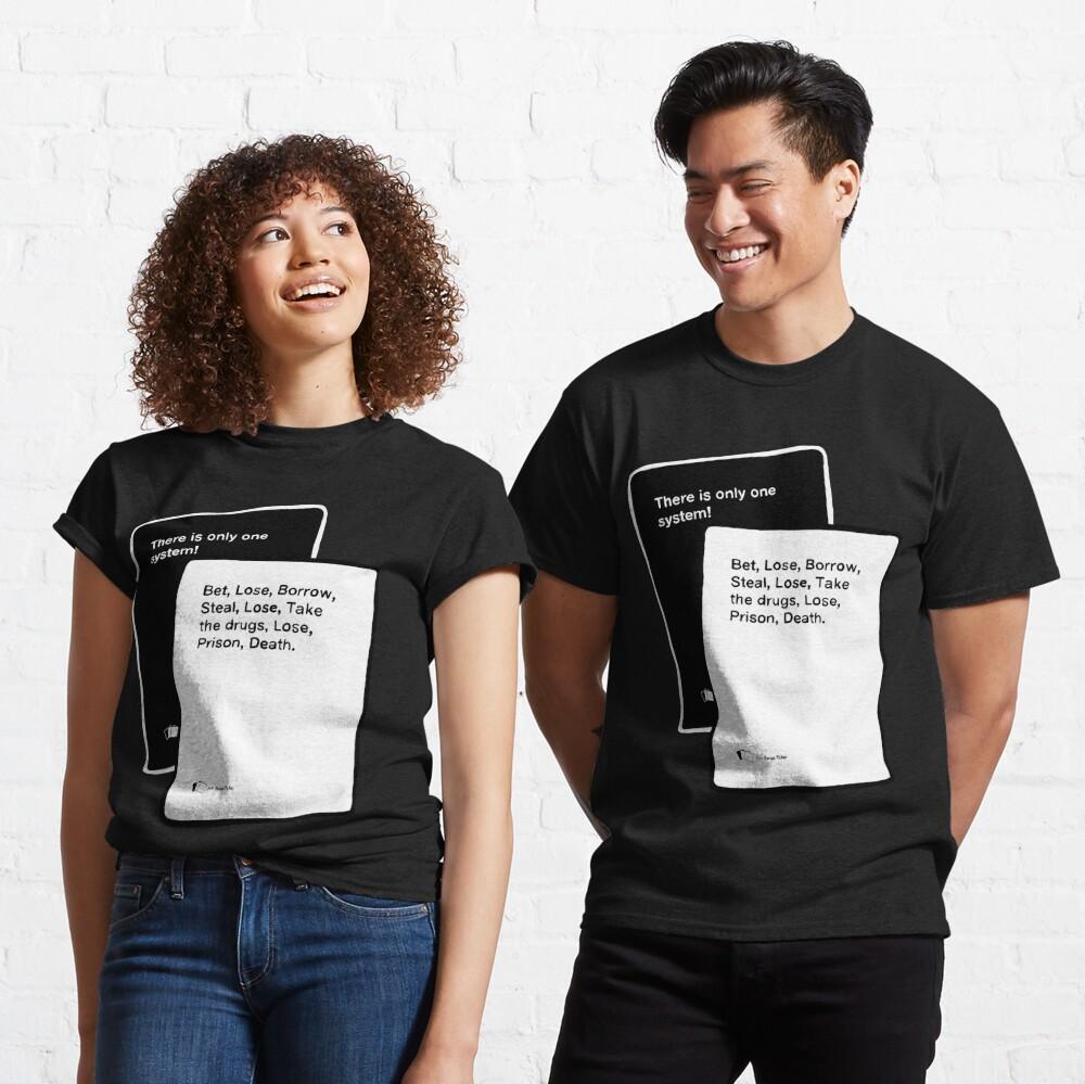 Black Books System Classic T-Shirt