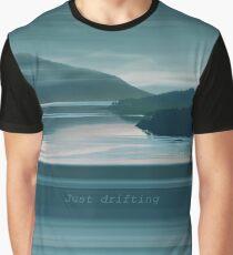 "Loch Sunart Refections ""Just drifting"" Graphic T-Shirt"