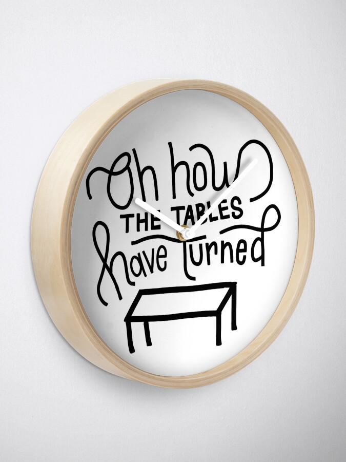 Alternative Ansicht von Jonas Brothers Zitat Uhr