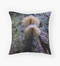 Maits Rest fungi #4 Throw Pillow