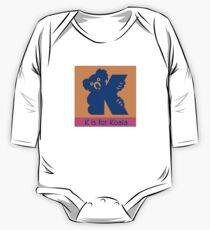 Koala Bear Animal Alphabet Kids Clothes
