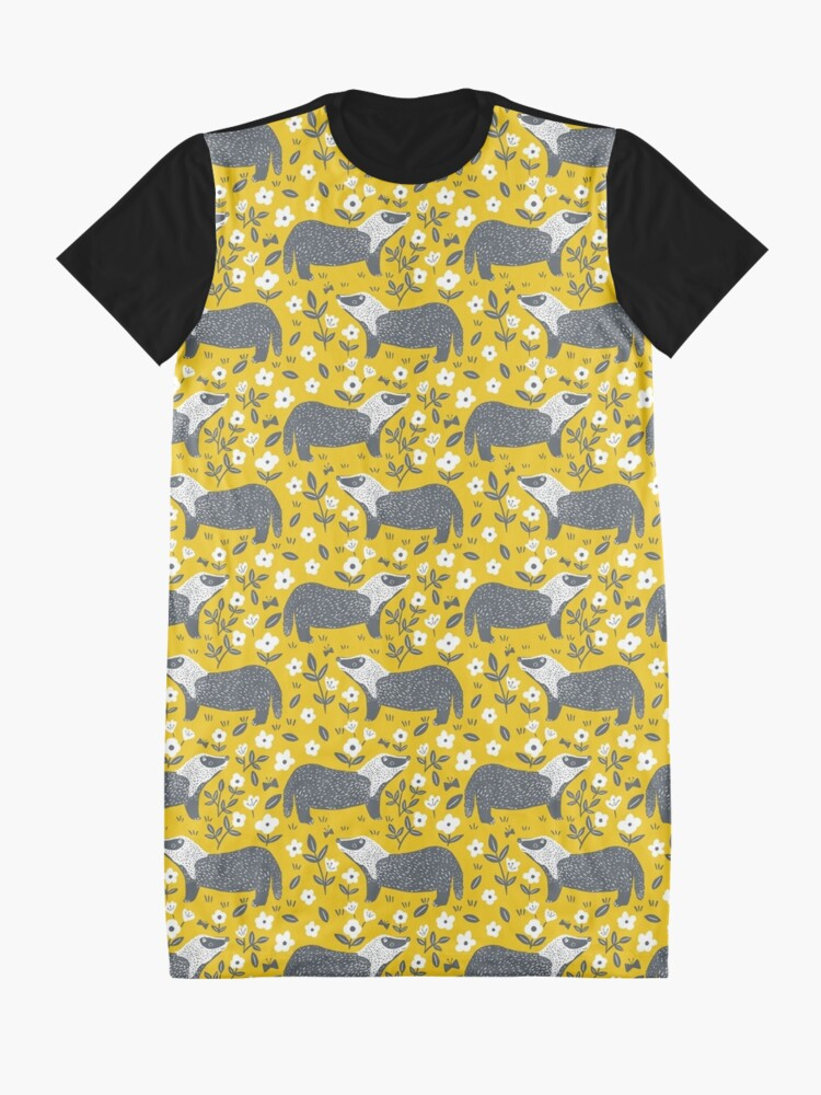 Alternate view of Badgers Graphic T-Shirt Dress