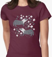Badgers Fitted T-Shirt