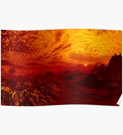 Just Another Bloody Sunset Poster