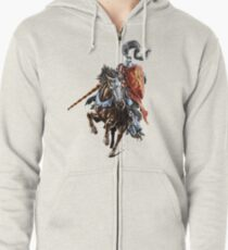 Jousting Knight Zipped Hoodie