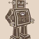 «RETRO ROBOT» de Retrocrix
