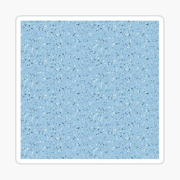 Sky Blue Rubber Flooring  Sticker