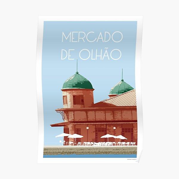 Mercado de Olhão Poster