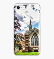 St Marys Church Finedon (HDR)  iPhone Case/Skin