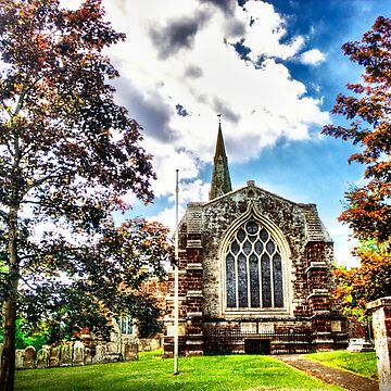 St Marys Church Finedon (HDR)  by InspiraImage