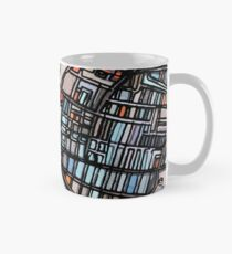 ABSTRACT MAP OF WALTHAM MA Classic Mug
