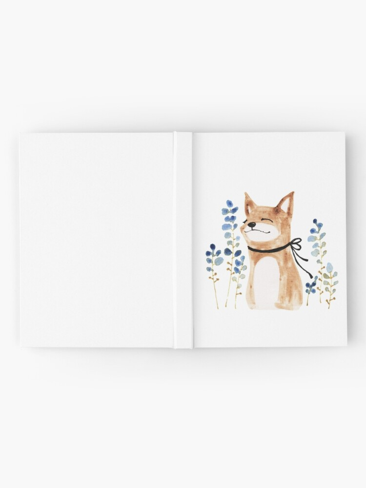 Alternate view of Fox and Flower Hardcover Journal