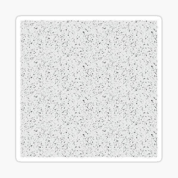White rubber flooring  Sticker