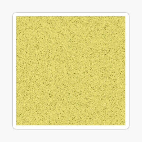 Yellow rubber flooring Sticker