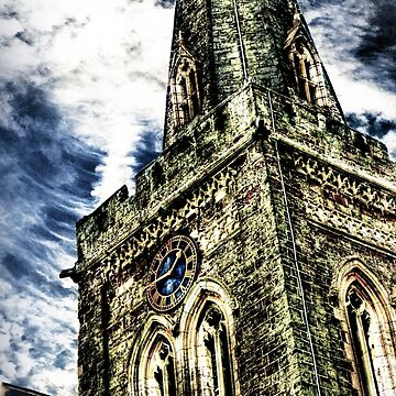 St Marys Church Tower (HDR)  by InspiraImage