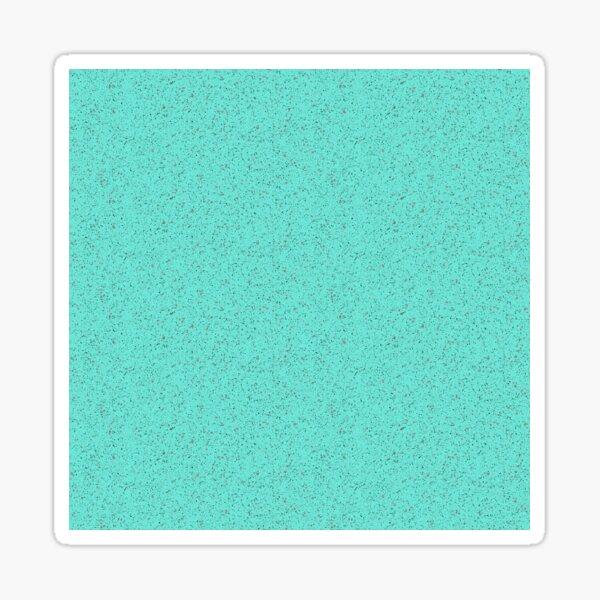 Turquoise rubber flooring Sticker