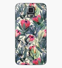 Painted Protea Pattern Case/Skin for Samsung Galaxy