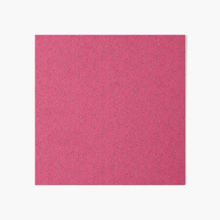 Pink rubber flooring Art Board Print