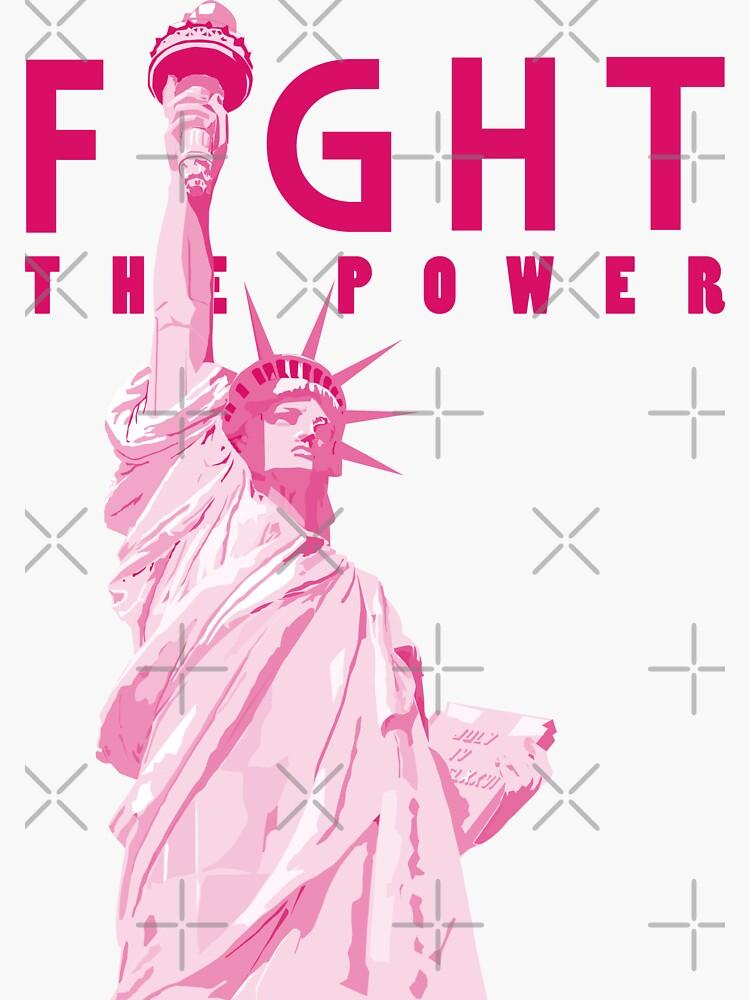 fight the power (Lady Liberty) by mayerarts
