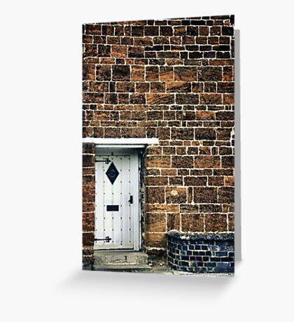 Little Door Greeting Card
