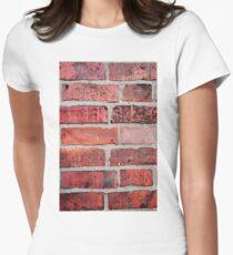 Brickwork Women's Fitted T-Shirt