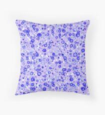Cojín de suelo Burbujas de acuarela púrpura en capas!