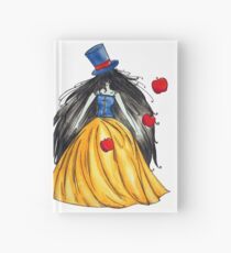 Who is the mad hatter ? Snow White | Blanche Neige  Hardcover Journal