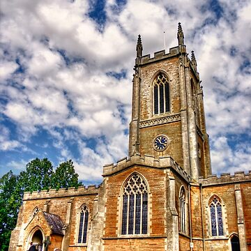 Orlingbury church HDR art  by InspiraImage