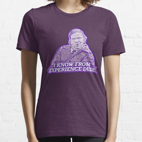 """""""I know from experience dude"""" Farley Billy Madison Essential T-Shirt"""