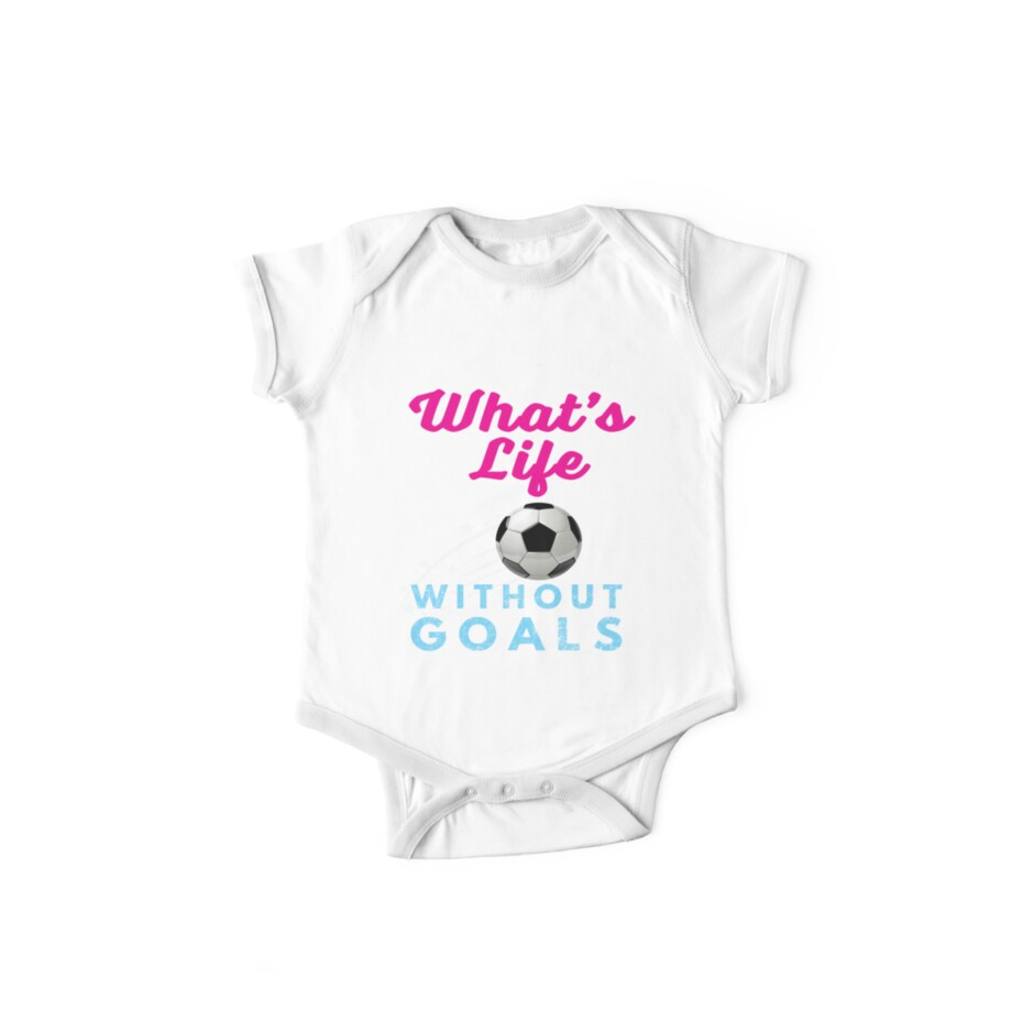 73bb2f5c9 Funny Soccer Gift Design for Boys & Girls Whats Life Without Goals ...