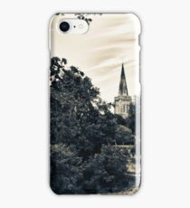 Country Church (vintage style)  iPhone Case/Skin