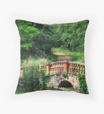 The Terracotta Bridge Throw Pillow