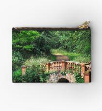 The Terracotta Bridge Zipper Pouch