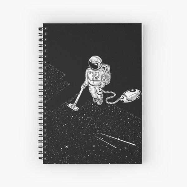 space vacuum cleaner Spiral Notebook