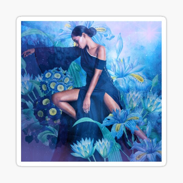 Ramona in the Garden of Dreams Sticker