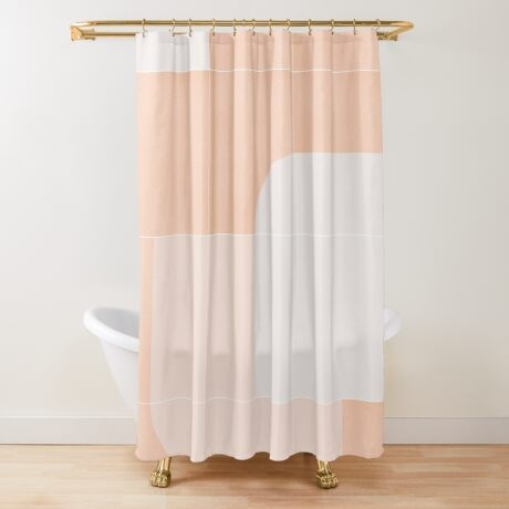 Retro Tiles 04 #redbubble #pattern Shower Curtain