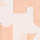 Retro Tiles 05 #redbubble #pattern by designdn