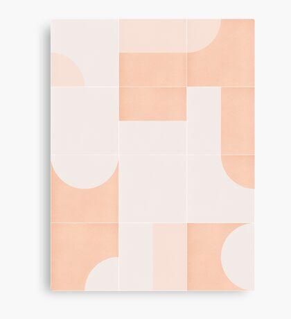 Retro Tiles 05 #redbubble #pattern Canvas Print